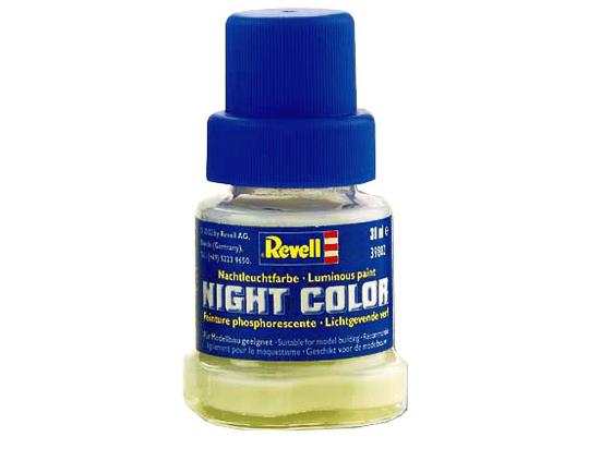 Revell Night Color - Luminous Glow In The Dark Paint