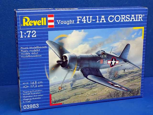 Revell 1/72 3983 Vought F4U-1D Corsair