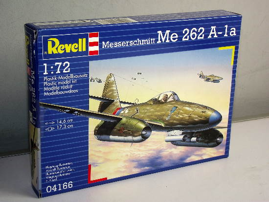 Revell 1/72 4166 Me 262 A1a