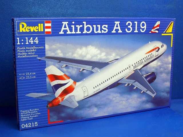 Revell 1/144 4215 Airbus A 319 - BA or German Wings