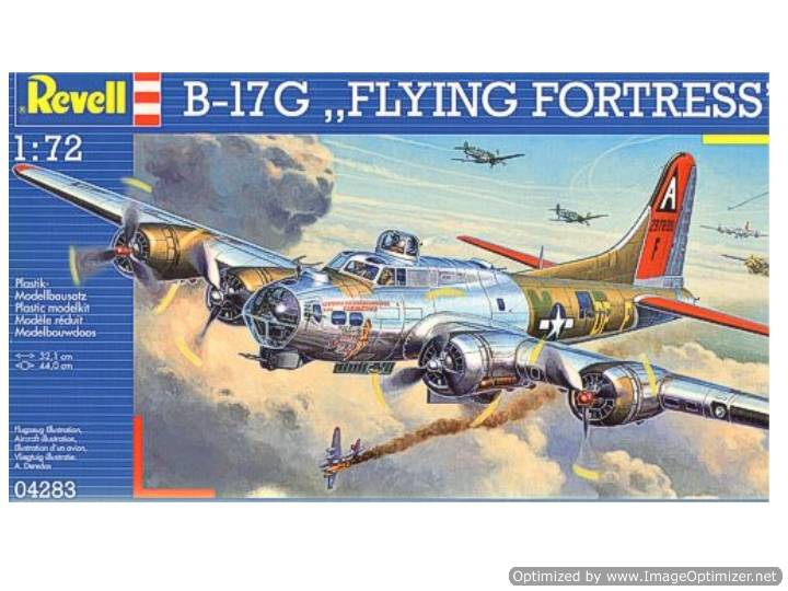 Revell 1/72 4283 B-17G Flying Fortress