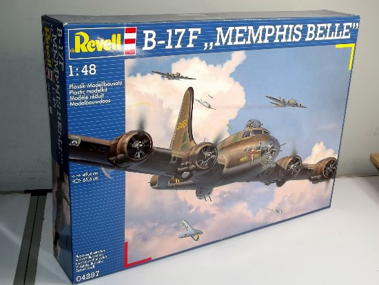 Revell B-17F Flying Fortress Memphis Belle