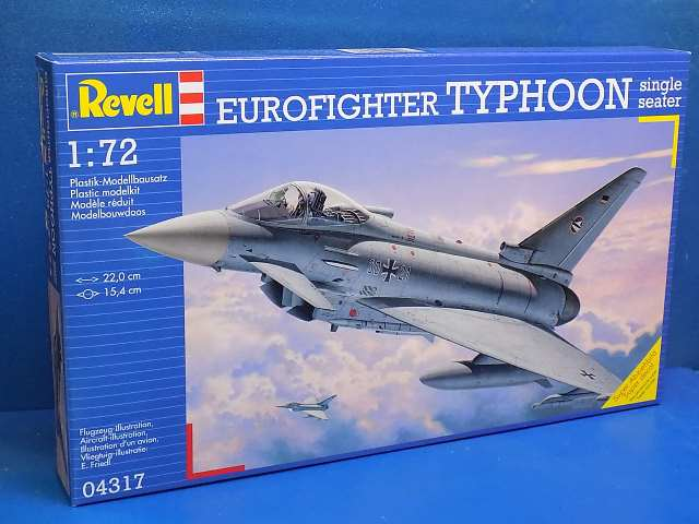 Revell 1/72 4317 Eurofighter TYPHOON single seater