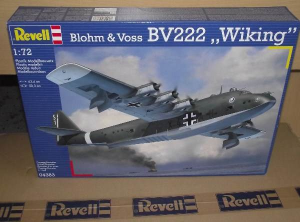 Revell 1/72 4383 Blohm and Voss BV 222 'Wiking' Flying Boat