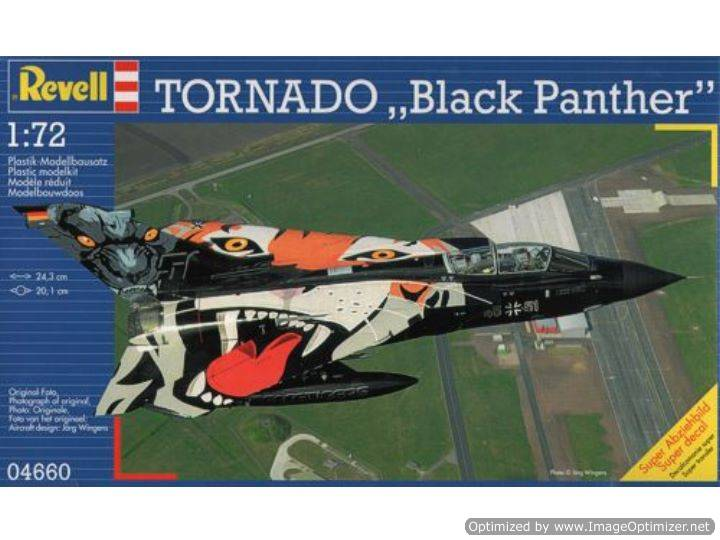 Revell 1/72 4660 Tornado Black Panther