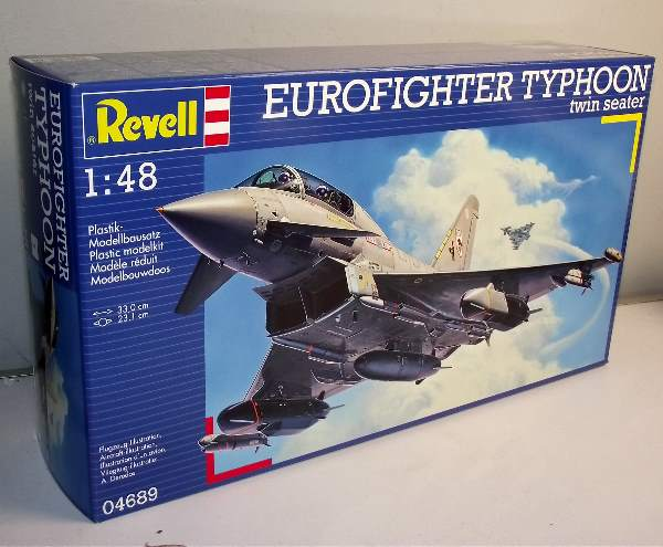Revell 1/48 4689 Eurofighter Typhoon Twin Seater