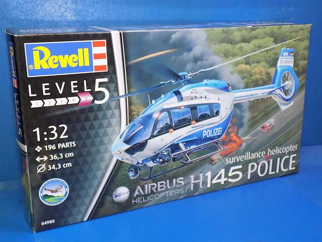 Revell 1/32 4980 Airbus H145 Police suveillance helicopter