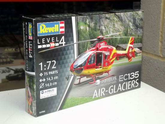 Revell 1/72 4986 Airbus Helicopter EC135 AIR-GLACIERS