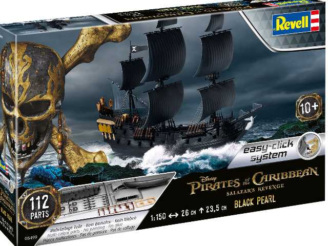 Revell 1/150 5499 The Black Pearl - Pirates of the Caribbean Salazar's Revenge