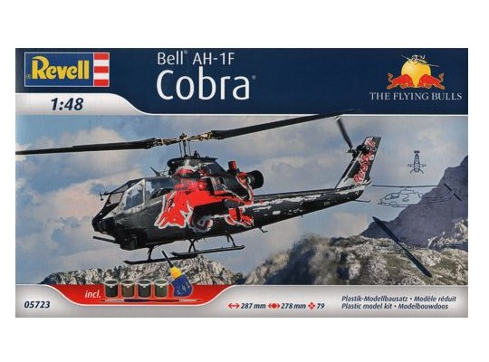Revell 1/48 5723 AH-1F Cobra Flying Bulls Gift-Set