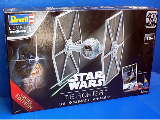 Revell 1/65 6051 Star Wars TIE Fighter
