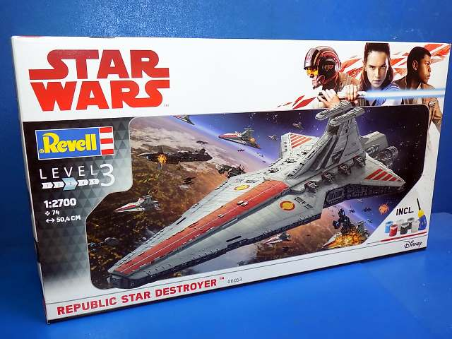 Revell 1/2700 6053 Star Wars - Republic Star Destroyer