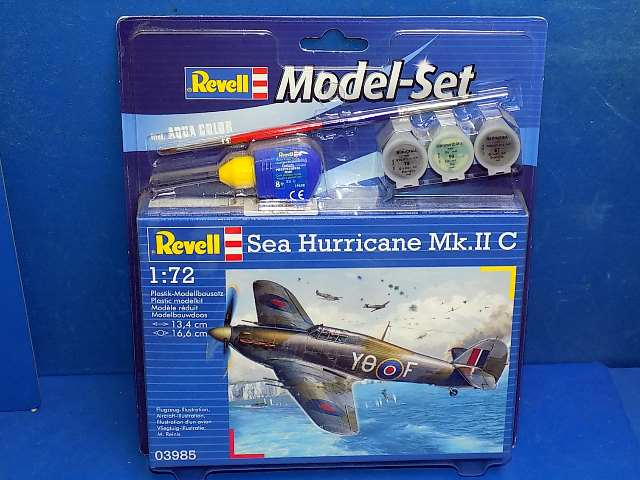 Revell 1/72 Sea Hurricane Mk.II C Gift Set 63985