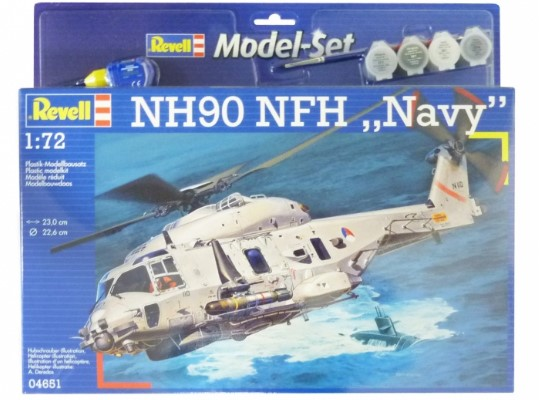 Revell 1/72 64651 NH90 NFH Navy Helicopter Gift Set