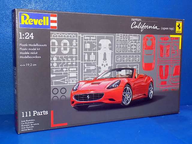 Revell 1/24 7276 Ferrari California open top