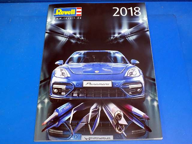 Revell - CAT2018 2018 Model Kit Catalogue