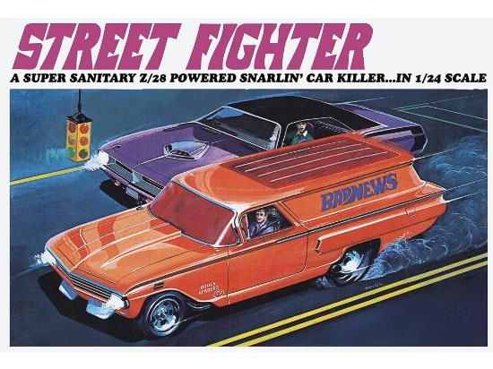 Revell Monogram 1/24 4262 Street Fighter - Tom Daniel