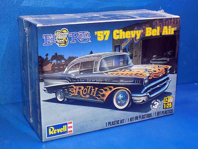 Revell Monogram 1/25 4306 1957 Chevy Bel Air