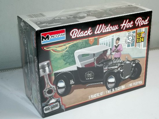 Revell Monogram 1/24 4324 Black Widow Hot Rod