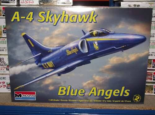 Revell Monogram 1/48 5310 A-4 Skyhawk Blue Angels