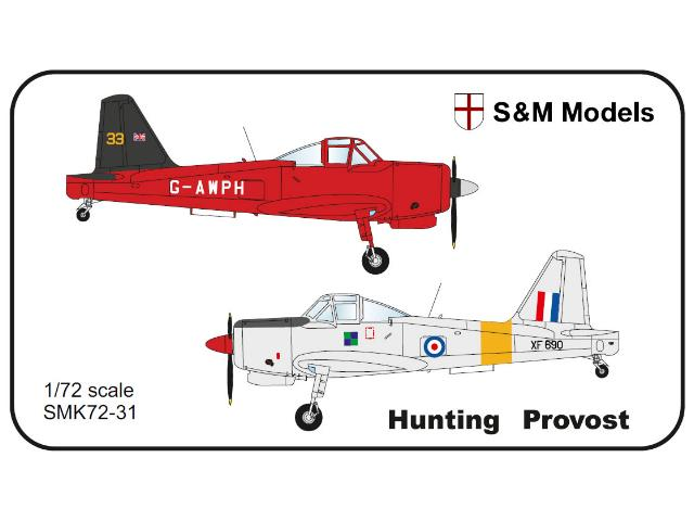 S&M Models 1/72 72-31 Hunting Provost British Issue