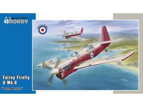 Special Hobby 1/48 48166 Fairey Firefly U Mk.8 - Drone version