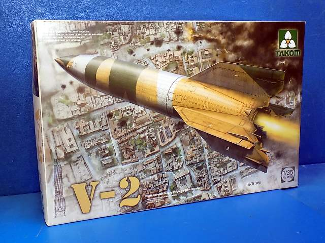 Takom 1/35 2075 V-2 German Single Stage Ballistic Missile