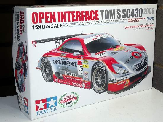 Tamiya 1/24 24293 Open Interface Tom's SC430