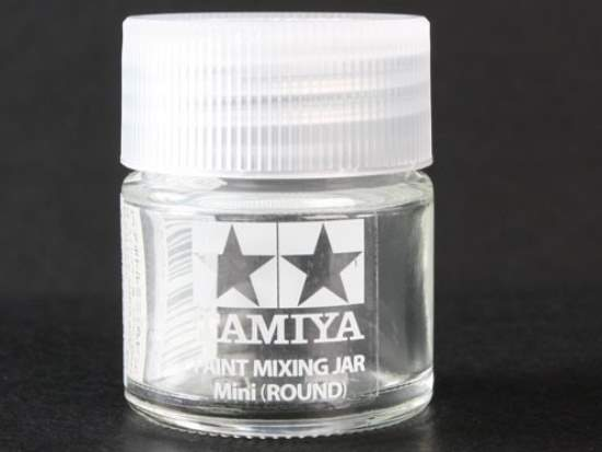 Tamiya 10ml 81044 Paint Mixing Jar 10ml (Round)