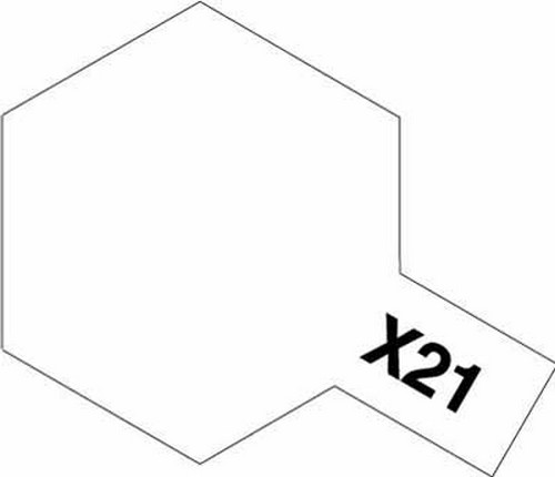 Tamiya 10ml 81521 Acrylic Mini X21 Flat Base