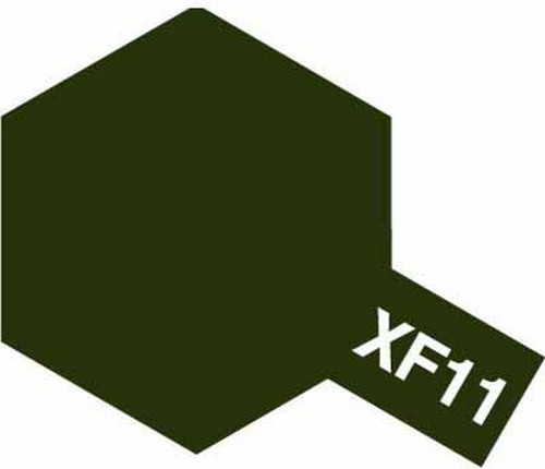 Tamiya 10ml 81711 Acrylic Mini XF11 J. N. Green