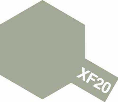 Tamiya 10ml 81720 Acrylic Mini XF20 Medium Grey