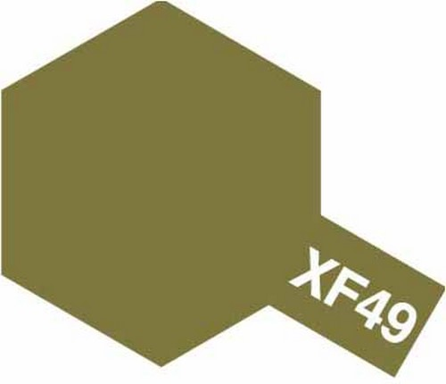 Tamiya 10ml 81749 Acrylic Mini XF49 Khaki