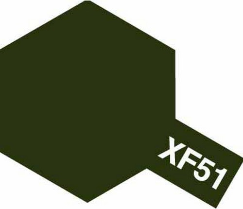 Tamiya 10ml 81751 Acrylic Mini XF51 Khaki Drab