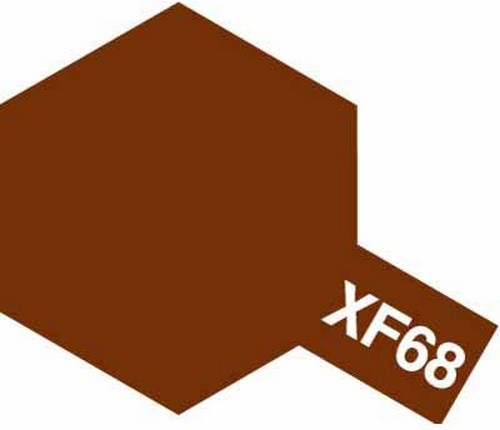 Tamiya 10ml 81768 Acrylic Mini XF68 NATO Brown