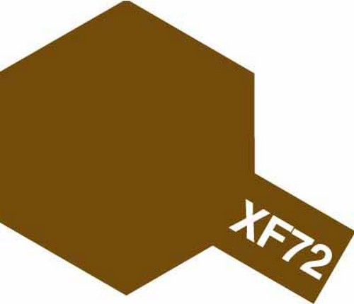 Tamiya 10ml 81772 Acrylic Mini XF72 Brown