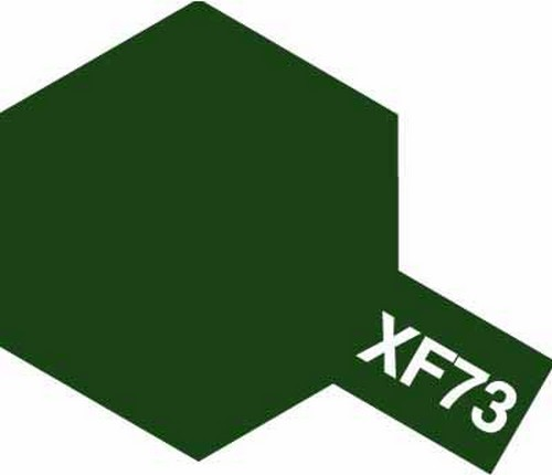 Tamiya 10ml 81773 Acrylic Mini XF73 Dark Green