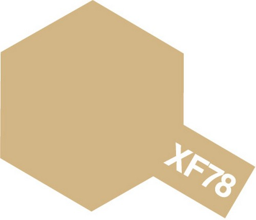 Tamiya 10ml 81778 Acrylic Mini XF78 Wooden Deck Tan