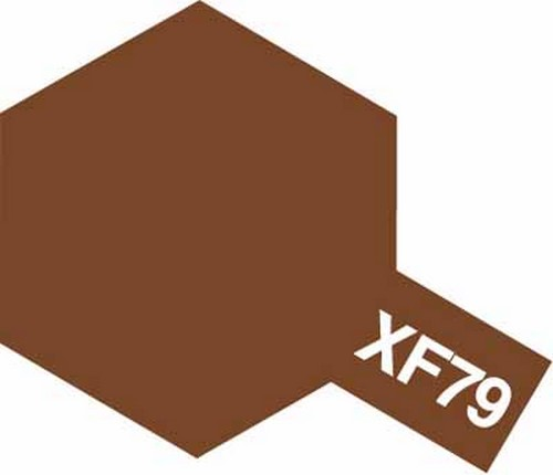 Tamiya 10ml 81779 Acrylic Mini XF79 Lino Deck Brown
