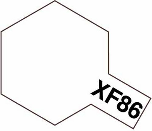 Tamiya 10ml 81786 Acrylic Mini XF86 Flat Clear