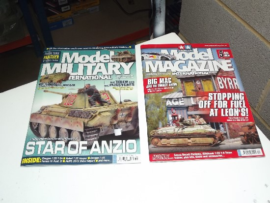 Tamiya Magazines na FREE35 FREE GIFT FOR ORDERS OVER £60 - Model Magazine and Model Military Oct 2015