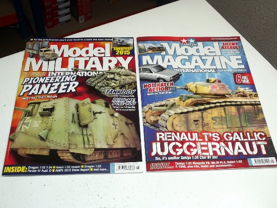 Tamiya Magazines na FREE36 FREE GIFT FOR ORDERS OVER £60 - Model Magazine and Model Military Nov 2015
