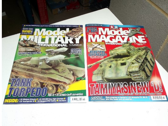 Tamiya Magazines na FREE37 FREE GIFT FOR ORDERS OVER £60 - Model Magazine and Model Military Dec 2015