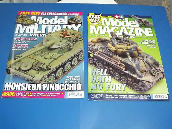 Tamiya Magazines na FREE44 FREE GIFT FOR ORDERS OVER £60 - Model Magazine and Model Military July 2016