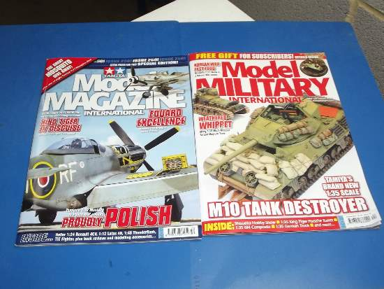 Tamiya Magazines na FREE45 FREE GIFT FOR ORDERS OVER £60 - Model Magazine and Model Military August 2016