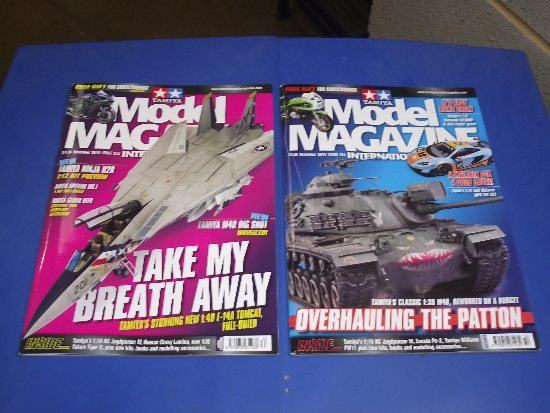 Tamiya Magazines na FREE49 FREE GIFT FOR ORDERS OVER £60 - Model Magazine November and December 2016