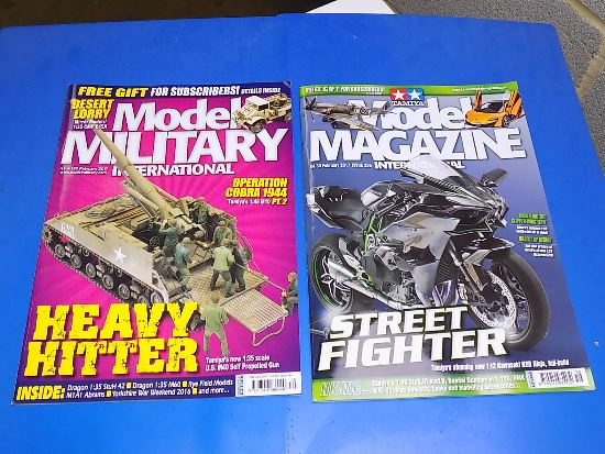 Tamiya Magazines na FREE51 FREE GIFT FOR ORDERS OVER £60 - Model Magazine and Model Military February 2017