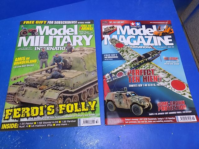 Tamiya Magazines na FREE53 FREE GIFT FOR ORDERS OVER £60 - Model Magazine and Model Military April 2017