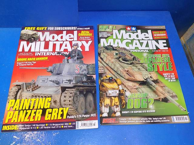 Tamiya Magazines na FREE54 FREE GIFT FOR ORDERS OVER £60 - Model Magazine and Model Military May 2017
