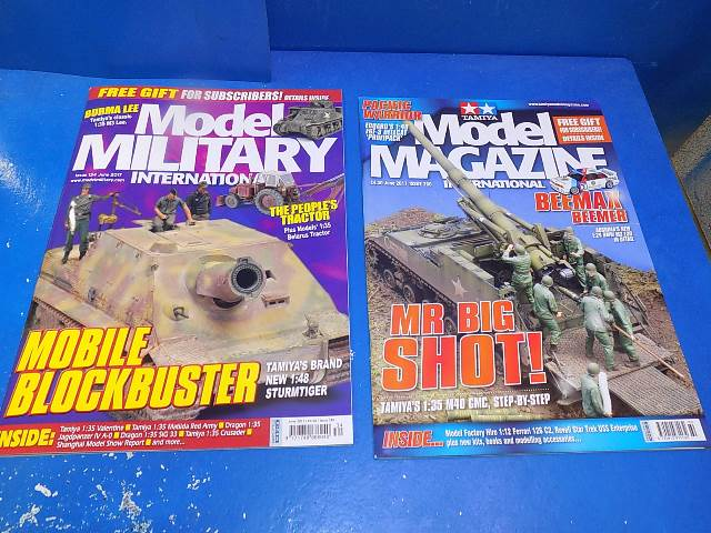 Tamiya Magazines na FREE55 FREE GIFT FOR ORDERS OVER £60 - Model Magazine and Model Military June 2017